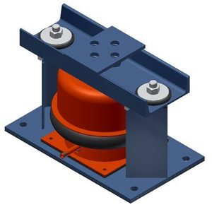 SSLR MAS 1 SSLFH-X Series Seismic Spring Mounts